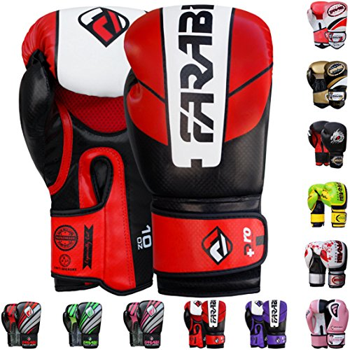 Farabi Pro Safety Tech Boxing Gloves Training Gloves