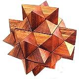 Logica Giochi art. ASTEROIDE 24 PZS - nivel de dificultad EXTREMA 4/5 - Rompecabezas de madera