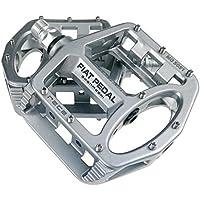 haodene pedales bicicleta de carretera pedales planas aleación magnesio ciclismo racing con antideslizante superficie Plate 4