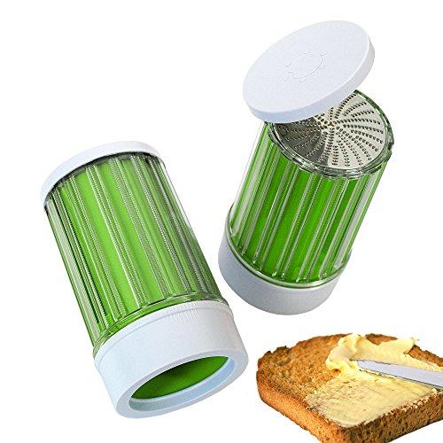 Cookit Easy Buttermühle, Reibe für schaumige Butter grün