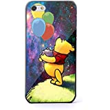 Winnie the Pooh and Piglet Balloon for iPhone 5/5s Black case
