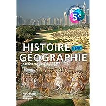 Histoire-Géographie-EMC cycle 4 / 5e - Livre élève - Nouveau programme 2016