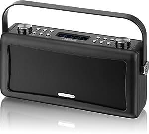 View Quest Hepburn - Cassa Bluetooth/USB da 10 W, colore nero