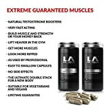 LA Muscle Extreme Guaranteed Muscles:★Extremely Potent, Increases Testosterone Levels, Phenomenal Muscle Size, Super-Fast Strength Gains, Get A HARDER And More Stronger Body, Works Days Or Your Money Back, Special Amazon Price Buy Now Before Prices Go Back Up, RRP £145