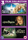 The Little Princess/ The Secret Garden/The Secret of Moonacre Triple Pack [DVD] [2012]