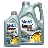 1 L + 5 L = 6 Liter Mobil Super™ 3000 X1 5W-40 Motor-Öl Motoren-Öl; Spezifikationen/Freigaben:...