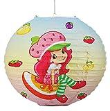 Unbekannt Papier Laterne / Lampenschirm -  Emily Erdbeer  - für Kinder - Papierlaterne / Kinderlaterne - Laternen Lampion Lampions - Erdbeere Kinderzimmer für Mädchen..