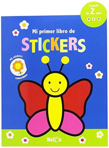 Mariposa. Mi primer libro de stikers (Mi primer libro de stickers)
