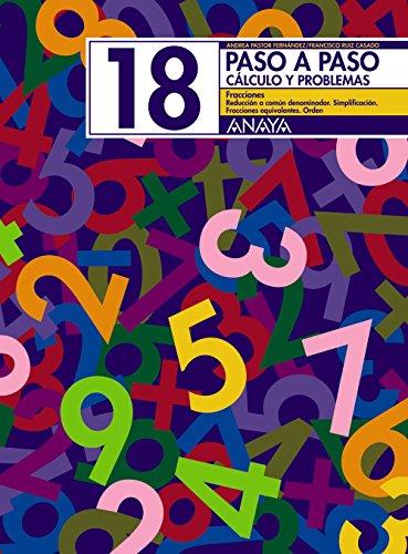 18. Fracciones. Reducir a común denominador