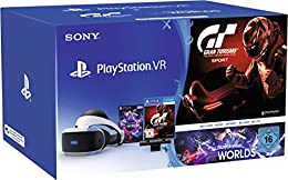 PlayStation VR + Camera + Gran Turismo Sport + VR Worlds Voucher