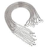 Pulsera de cadena de serpiente, abalorio para manualidades, fabricación de bisutería, estilo europeo, de Rubyca.