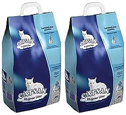 Catsan Hygiene Non-Clumping Cat Litter - 2 x 20L