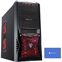 Ultra Fast Quad Core, Gaming PC, Desktop Computer with WIFI (3.3GHz (3.6GHz Turbo) AMD A86600K 4-core, Radeon HD R7Graphics APU, 1TB HDD Hard Drive, 8GB 1600MHz RAM, Windows 10)