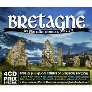 Bretagne Les Plus Belles Chansons (Coffret 4 CD)