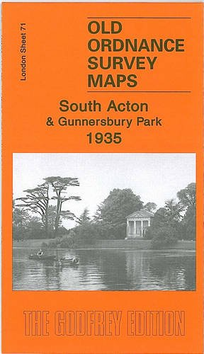South Acton and Gunnersbury Park 1935: London Sheet 71.4 (Old Ordnance Survey Maps of London)