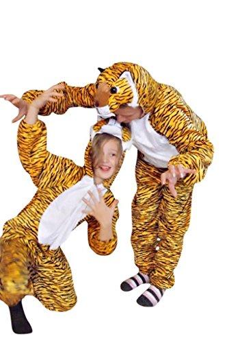 Tigger Kostüm Männer - PUS Tiger- Kostüm-e AN28 Gr. M-L, Kat. 2, Achtung: B-Ware Artikel. Bitte Artikelmerkmale lesen! Frau-en und Männer Tier-e Raubkatze-n Fasnacht-s Fasching-s Karneval-s Geburtstag-s Geschenk-e
