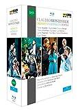 Monteverdi: Orpheus / Odysseus / Poppea [3 Blu-rays]