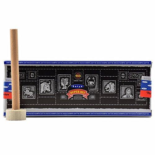 Super Hit - pâte d'encens Dhoop baguettes - SATYA - dure 1 heure