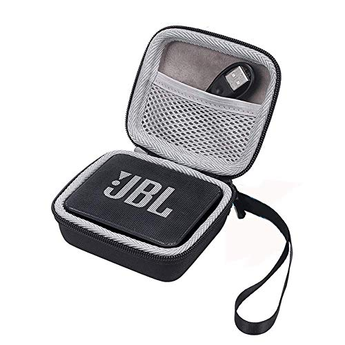 Flycoo Rigide Housse pour JBL GO 2 Bluetooth Speaker Enceinte Portable Etui Sac Zipper Case Protection Antichoc