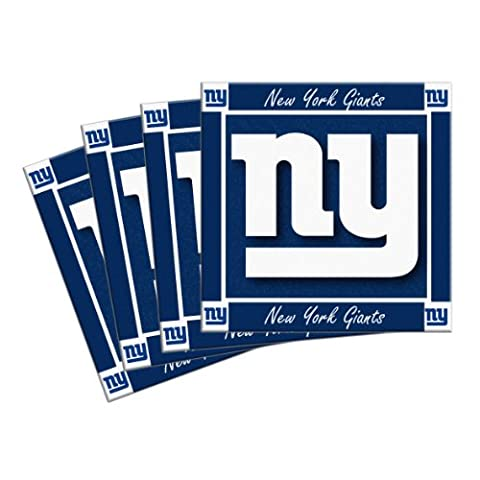 NFL New York Giants 4-Pack Ceramic Coasters