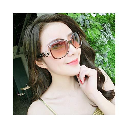 Sportbrillen, Angeln Golfbrille,UV400 Fashion Goggle Sunglasses Women Brand Designer Vintage Ring Sun Glasses Female Eyewear Eyeglass Eye Sunglass Lentes De Sol Brown
