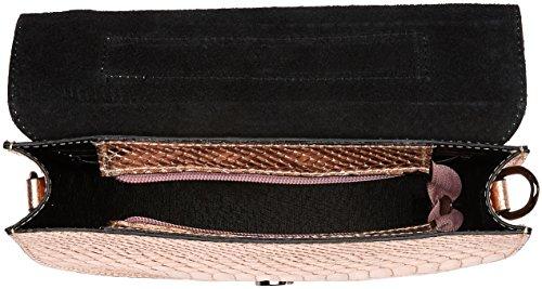 Chicca Borse 1604, Borsa a Spalla Donna, 23x15x5 cm (W x H x L) Rosa
