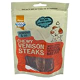 Good Boy Pawsley & Co Chewy Venison Steaks 80g (12 Pack)
