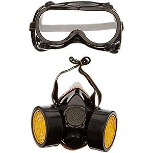 TRIXES 1 x Costume Occhiali e 1 x Maschera per Costume - Accessorio di Costume per Operaio edile Scienziato Industriale… 51jorz4wbgL. SS300