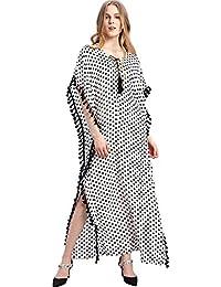 Vestido musulmán Dubai Kaftan para Mujer Abaya Vestido Largo islámico Niñas árabe Caftan 2018 Verano Suelto