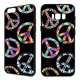Handyhülle Hippie Samsung Silikon Peace Pace Bulli Vinyl Rainbow Gitarre 60s Gay, Handy:Samsung Galaxy A5 (2016), Hüllendesign:Design 5 | Silikon Schwarz
