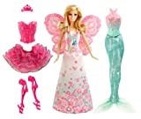 Barbie Mattel BCP36 Puppe, Modern Fairytale 3-in-1 Fantasie