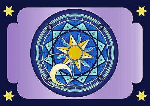 Six Mango Magische Array Wandtuch-tapeten Zeichentrippe Thema Wandtuch Tapete Wandtafel (H) 400 *...