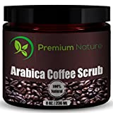 Premium Nature Café Arabica Naturel Exfoliant, 8 Oz