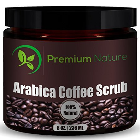 Premium Nature Natural Arabica Coffee Scrub, 8