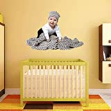 #6: Wall Sticker 'Home & Decor' (Playing Baby PVC Vinyl, 64 CM X 94 CM)
