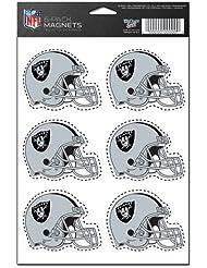 Oakland Raiders 6-Pack Magnet Set