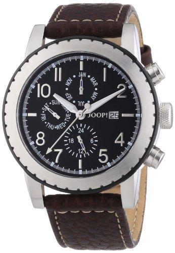 Joop! - JP100631F02U - Montre Homme - Quartz Analogique - Chronomètre - Bracelet Acier Inoxydable Noir