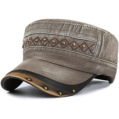 Gorras planas/Sombrero del sol de la cortina de otoño/Deportes de ocio al aire libre tapa/ Korean fashion gorra militar/ niño del casquillo del