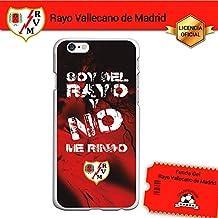Funda Gel Flexible Rayo Vallecano para iPhone 6 iPhone 6S, Carcasa TPU, protege y se adapta a la perfección a tu Smartphone. Licencia oficial Rayo Vallecano - Lema2