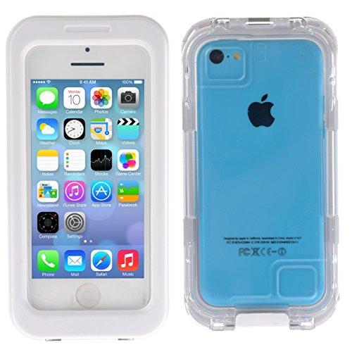Wendapai wasserdicht Hülle zum iPhone 4 4s Super Slim Griff Hülle Super Slim Griff Telefon Hülle zum Beach Swimming Skiing (Für 4s Case Iphone Carry)