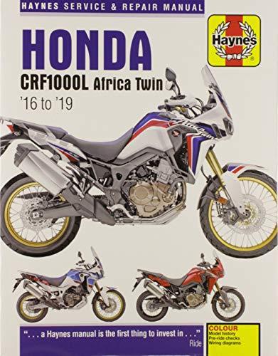 4f6a0d3611 Honda CRF1000L Africa Twin Service & Repair Manual (2016 to 2018) (Haynes  Powersport
