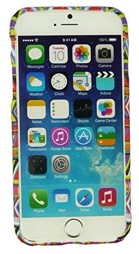 """Emartbuy® Eingabestift Pack Für Apple Iphone 6 6G 6S 4.7 """" Zoll LCD Displayschutz + Metallic Mini Rot Eingabestift + Glänzend Gel Hülle Schutzhülle Case Cover Rot Aztec Drucken Gel"""