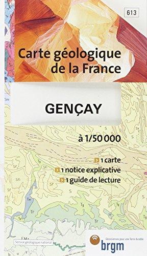 Carte géologique : Gençay