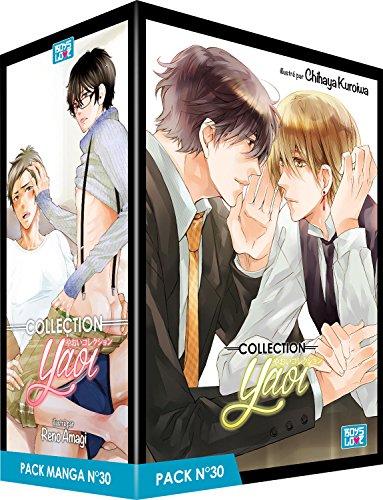 Pack Boy's Love - Partie 30 - 5 Mangas (Livres) - Yaoi