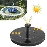 COOCHEER Solar Teichpumpe Springbrunnen für Gartenteiche