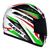 Suomy Apex Italy Casco para Moto Integral, Multicolor, L