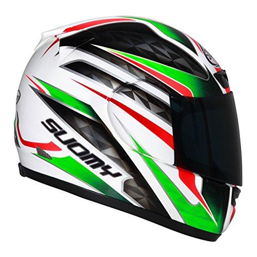 Suomy Motorradhelm Apex Italy, Mehrfarbig, L (Bell Solar Helm)