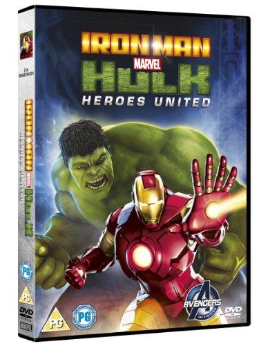 Image of Marvel's Iron Man & Hulk: Heroes United [DVD]