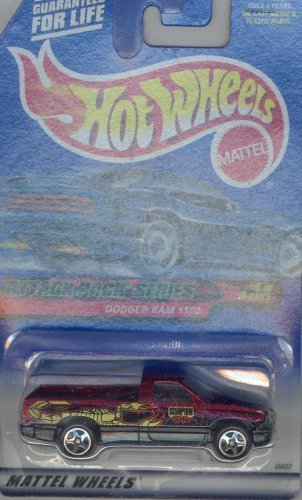 Hot Wheels 2000-024 DODGE RAM 1500 Attack Pack Series 4 OF 4 1:64 Scale by Hot Wheels