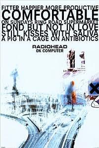 1art1 395 Poster Radiohead Ok Computer 91 x 61 cm